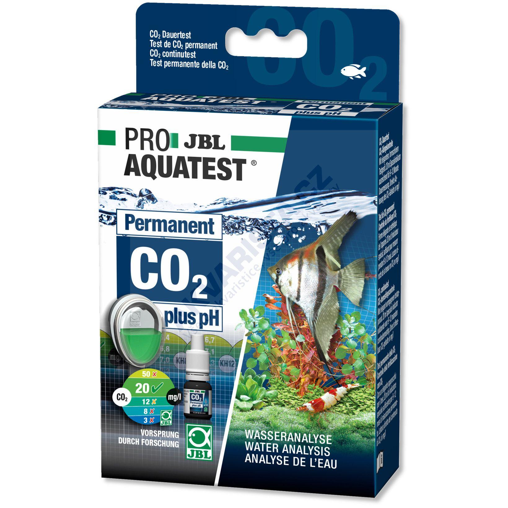 JBL PRO Aquatest Permanent CO2 plus pH