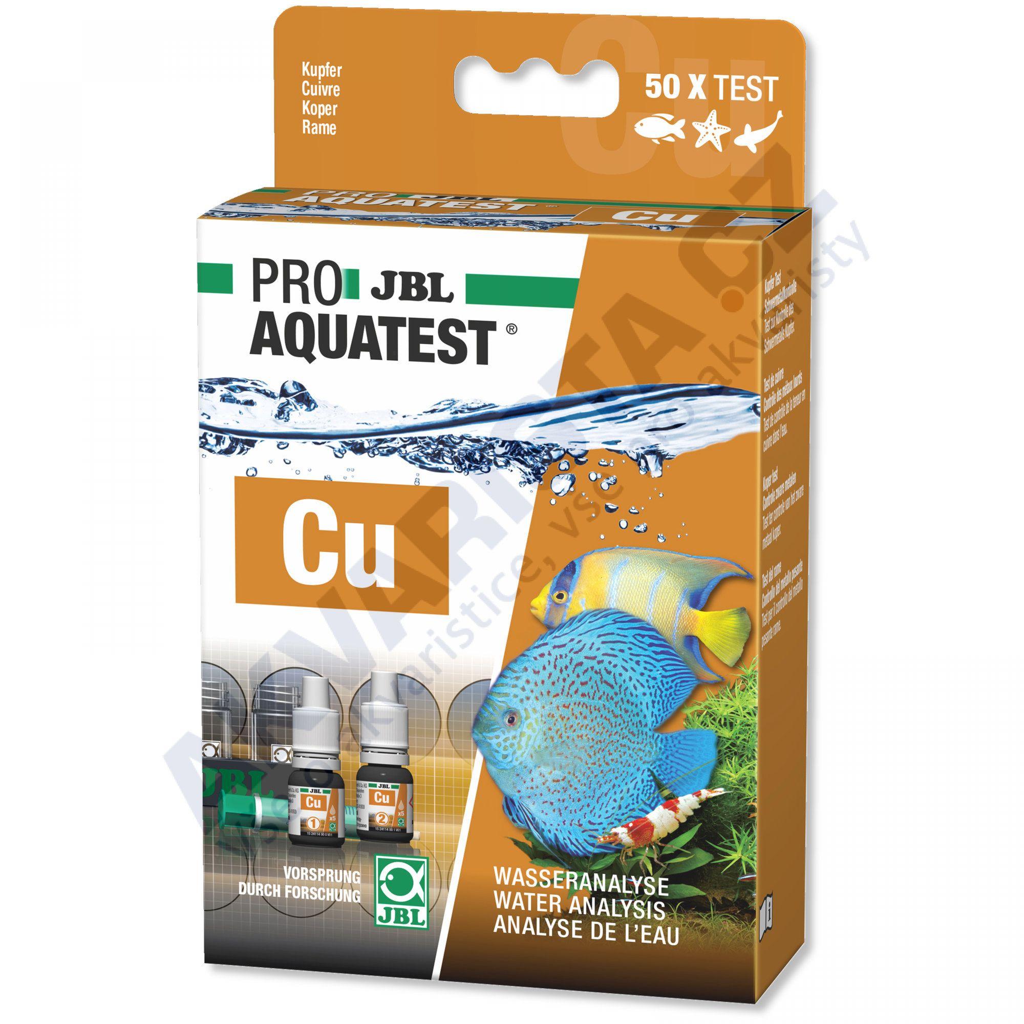 JBL PRO Aquatest Cu (měď)