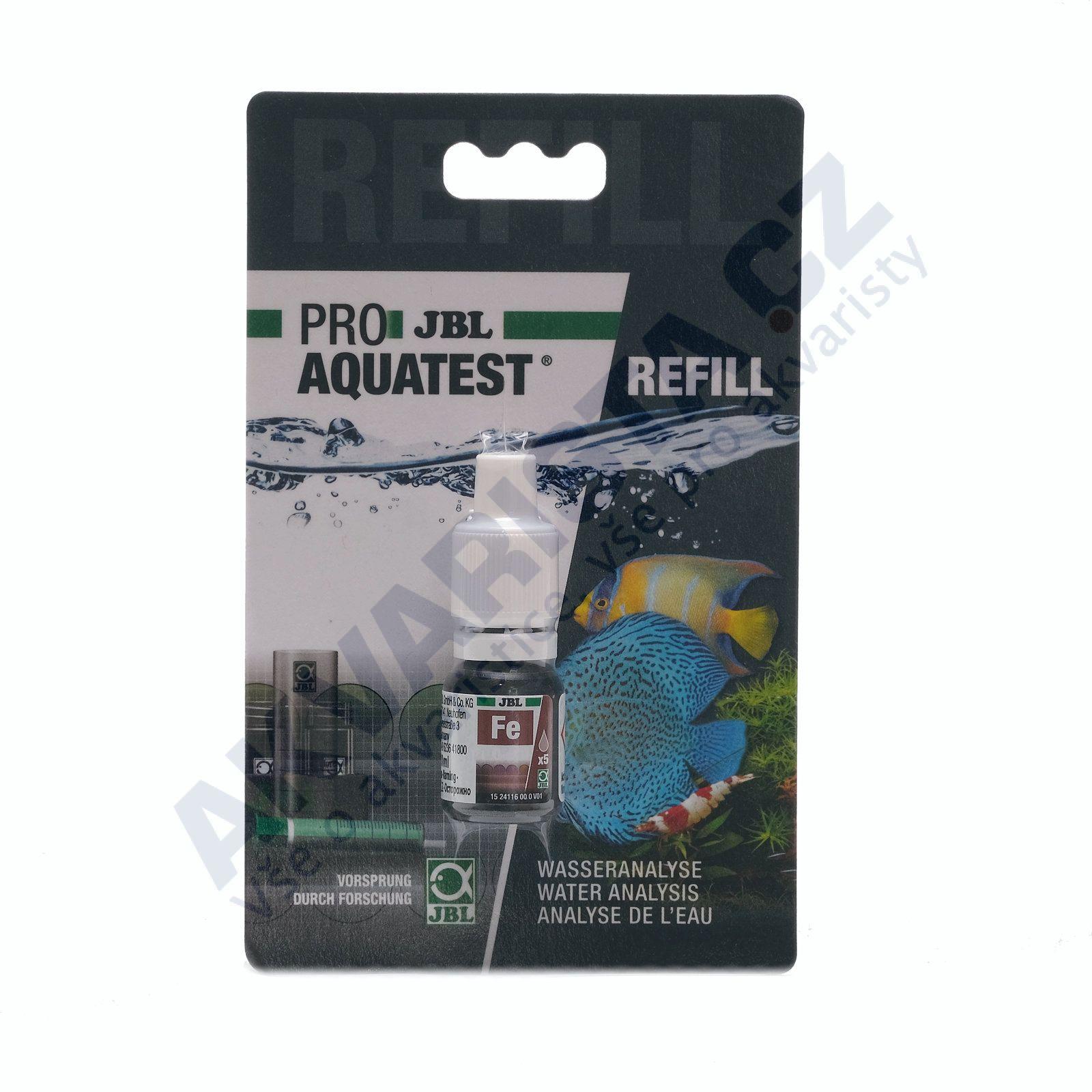 JBL PRO Aquatest náhradní náplň refill pro Fe test (železo)