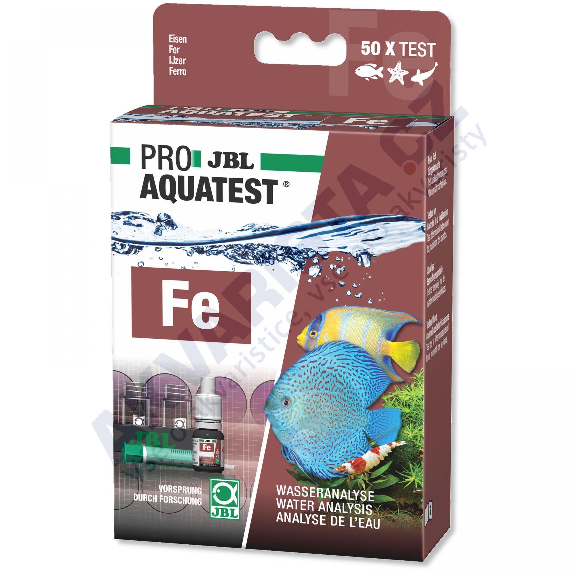 JBL PRO Aquatest Fe (železo)