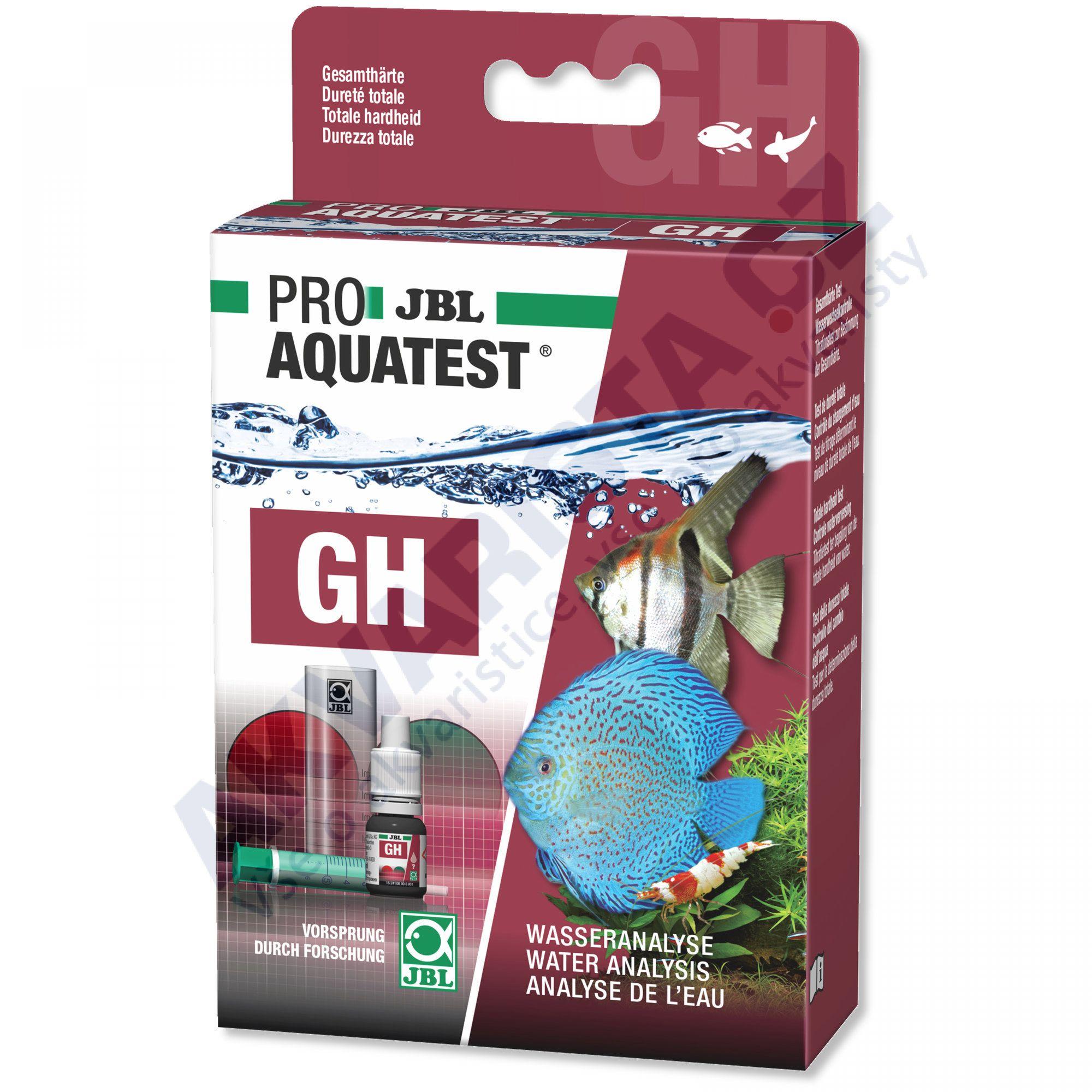 JBL PRO Aquatest GH (celková tvrdost)