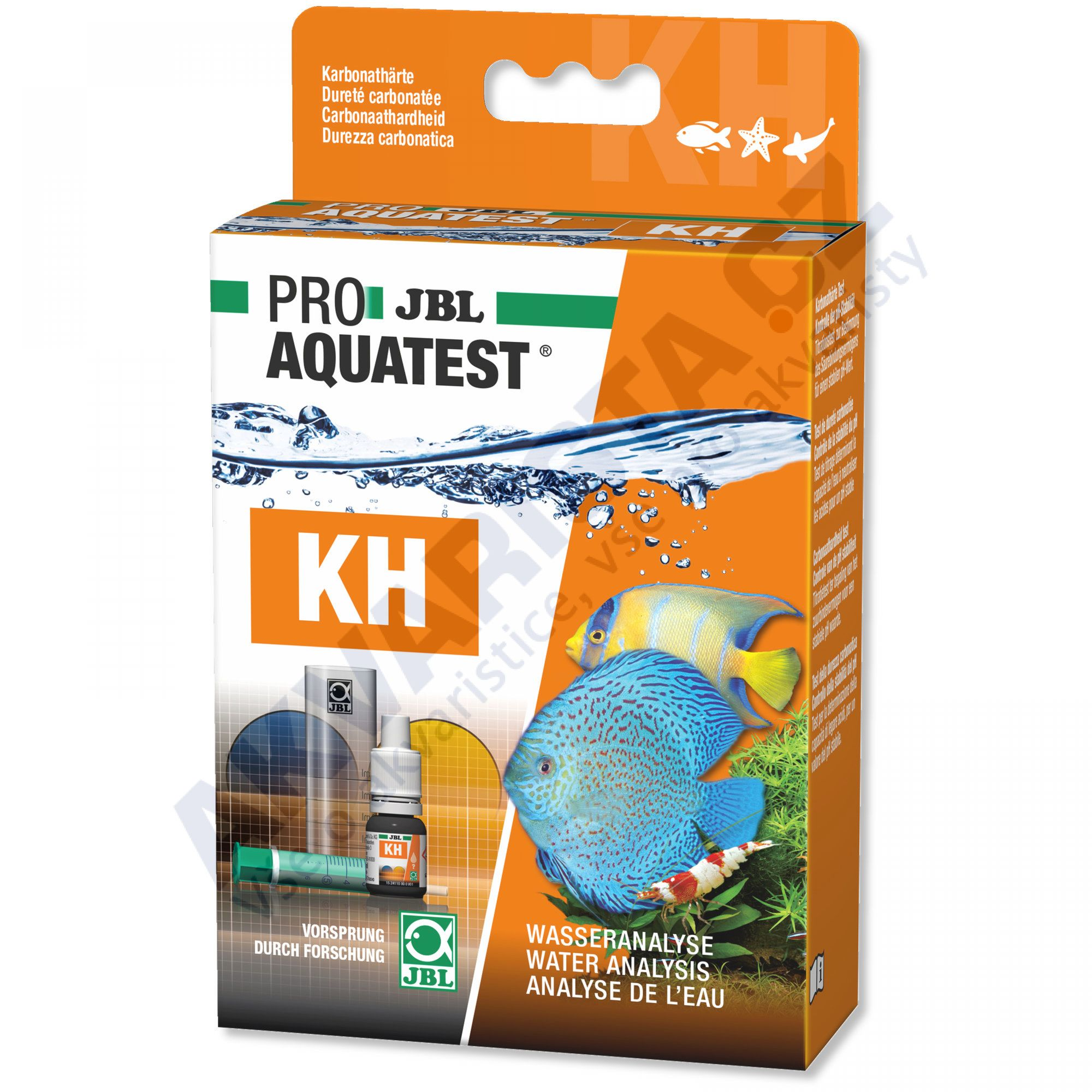 JBL PRO Aquatest KH (uhličitanová tvrdost)