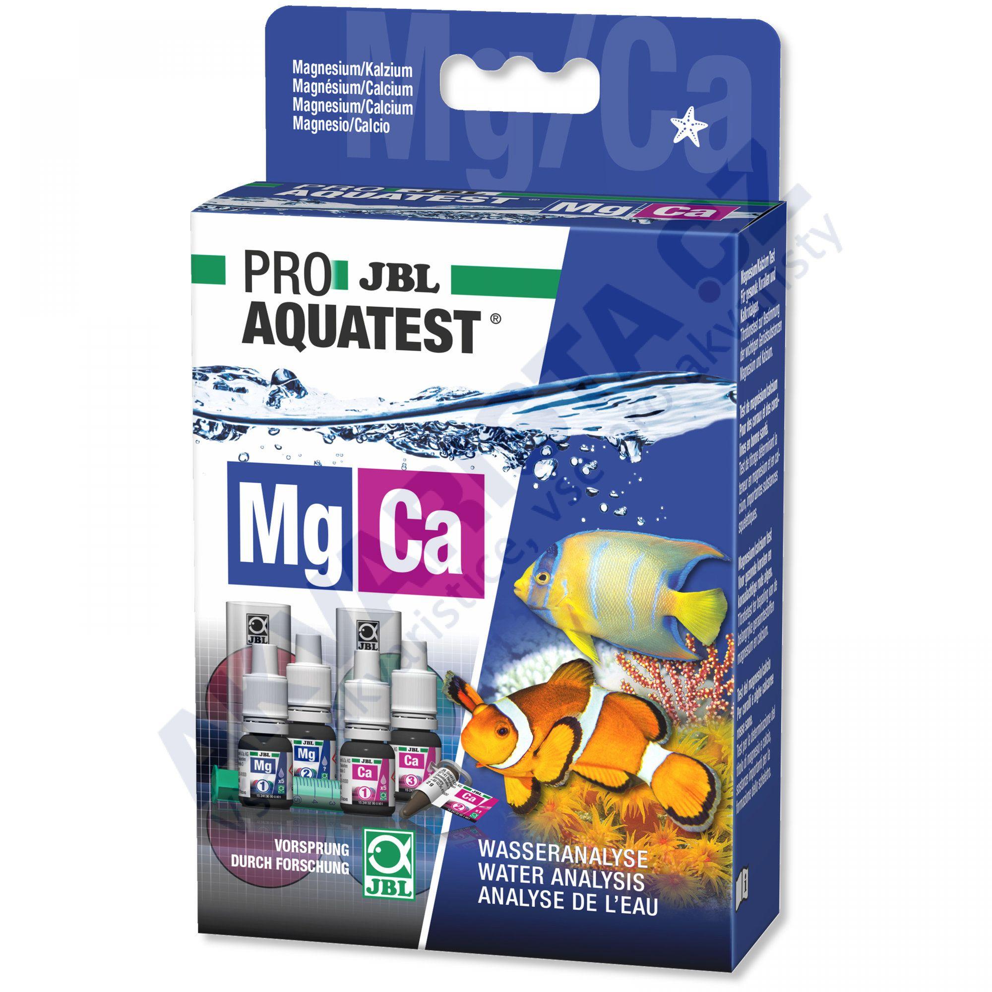 JBL PRO Aquatest Mg-Ca (hořčík-vápník) pro mořská akvária