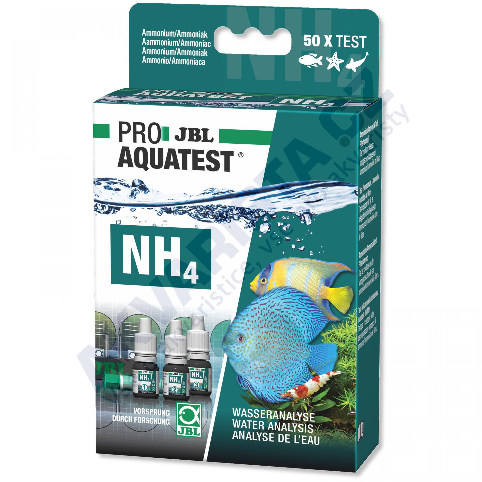 JBL PRO Aquatest NH4 (amonium)