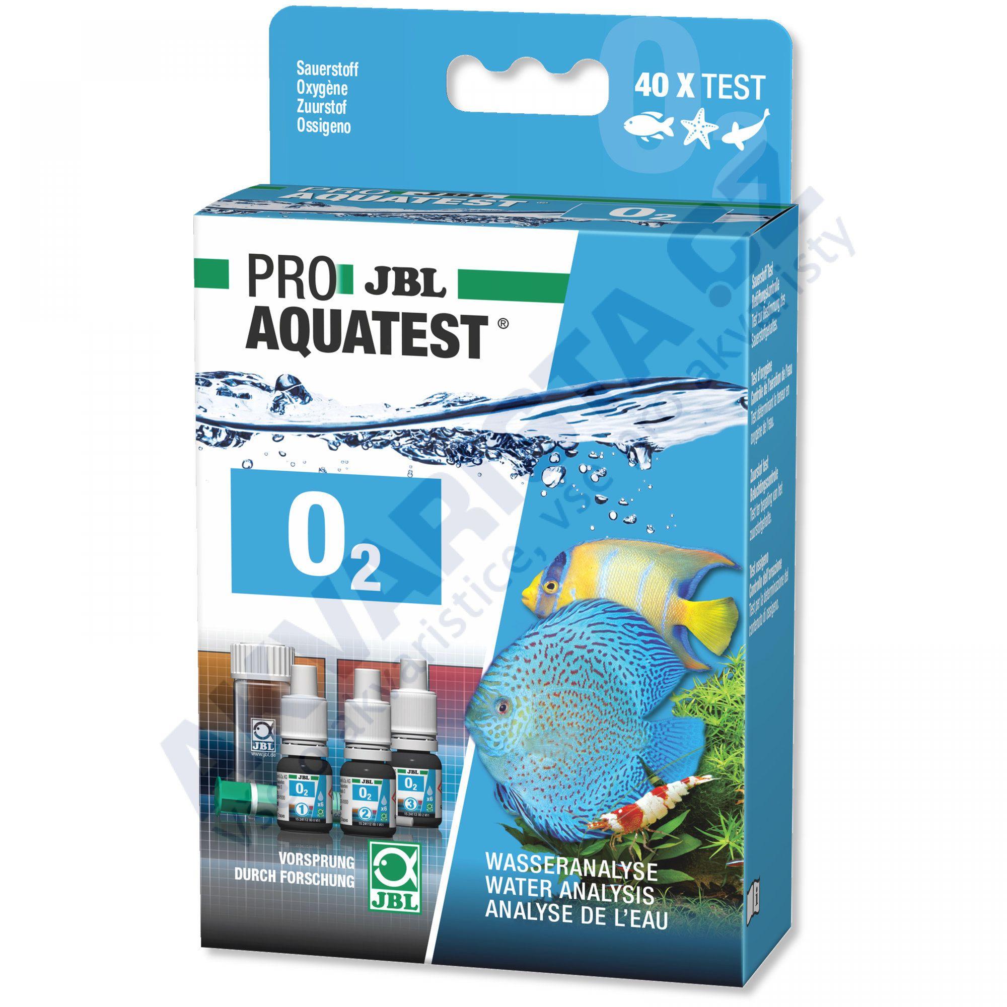 JBL PRO Aquatest O2 (obsah kyslíku ve vodě)