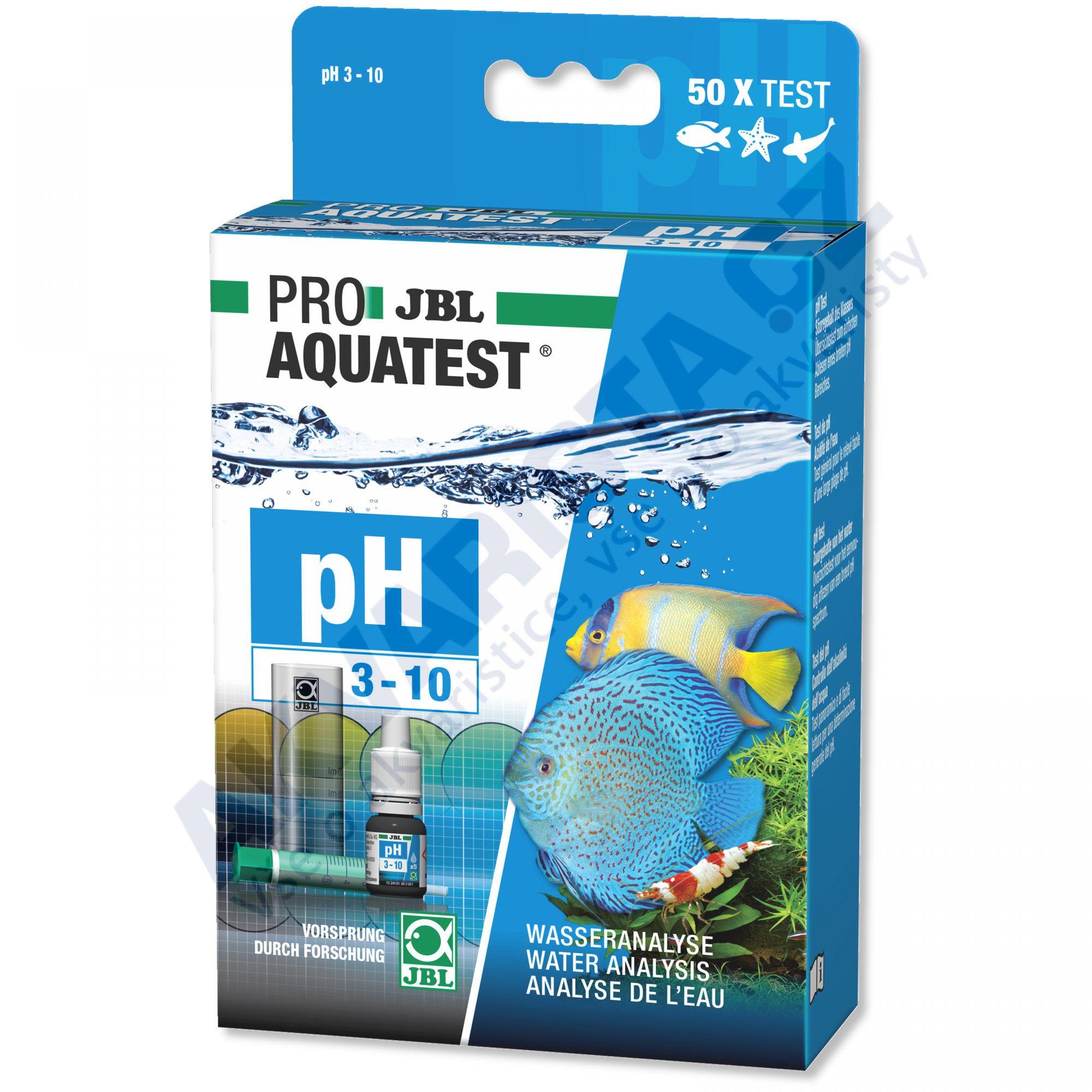 JBL PRO Aquatest pH 3.0 - 10.0