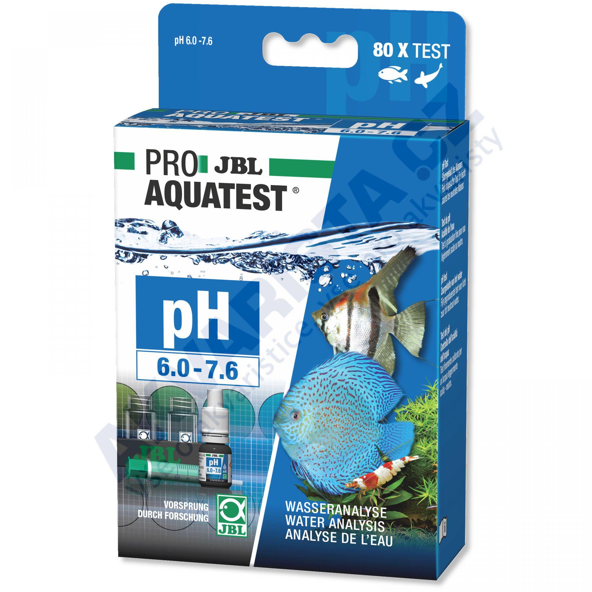 JBL PRO Aquatest pH 6.0 - 7.6
