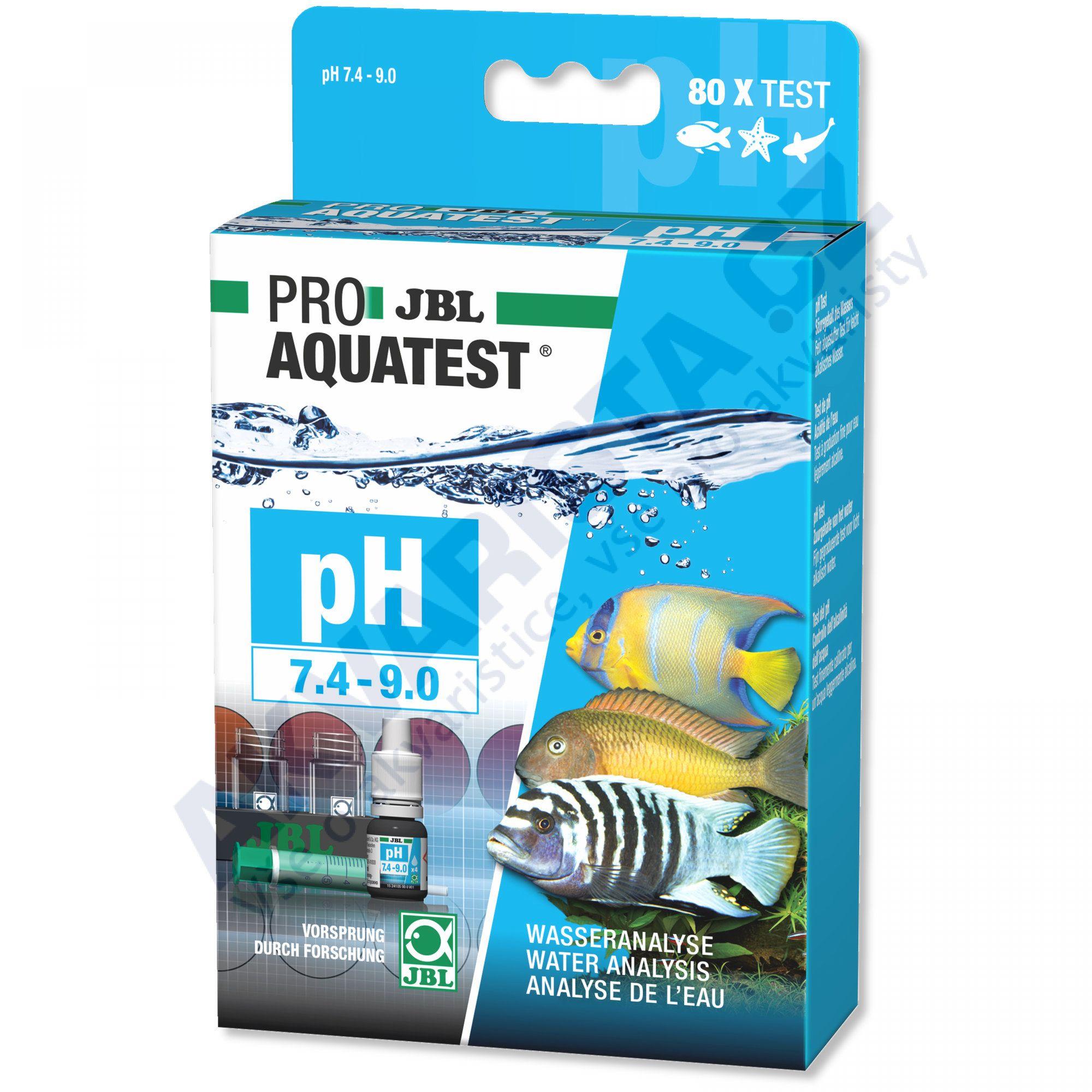 JBL PRO Aquatest pH 7.4 - 9.0