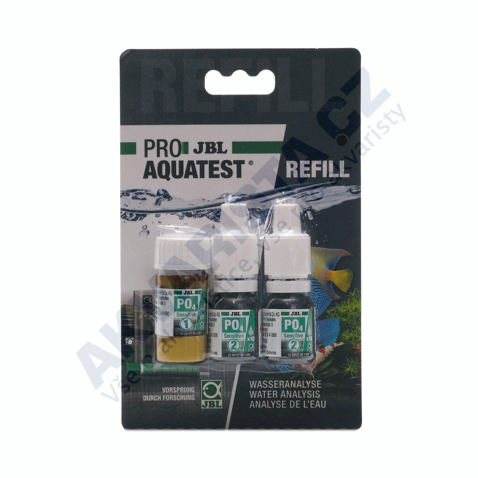 JBL PRO Aquatest náhradní náplň refill pro PO4 test (fosfáty)
