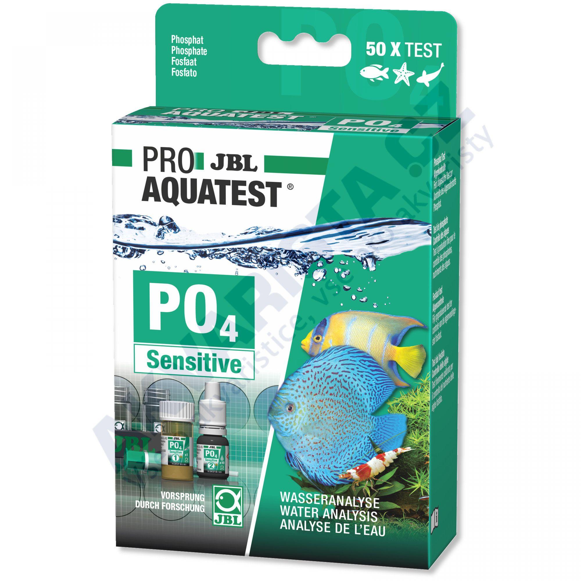 JBL PRO Aquatest PO4 sensitive (fosfáty)