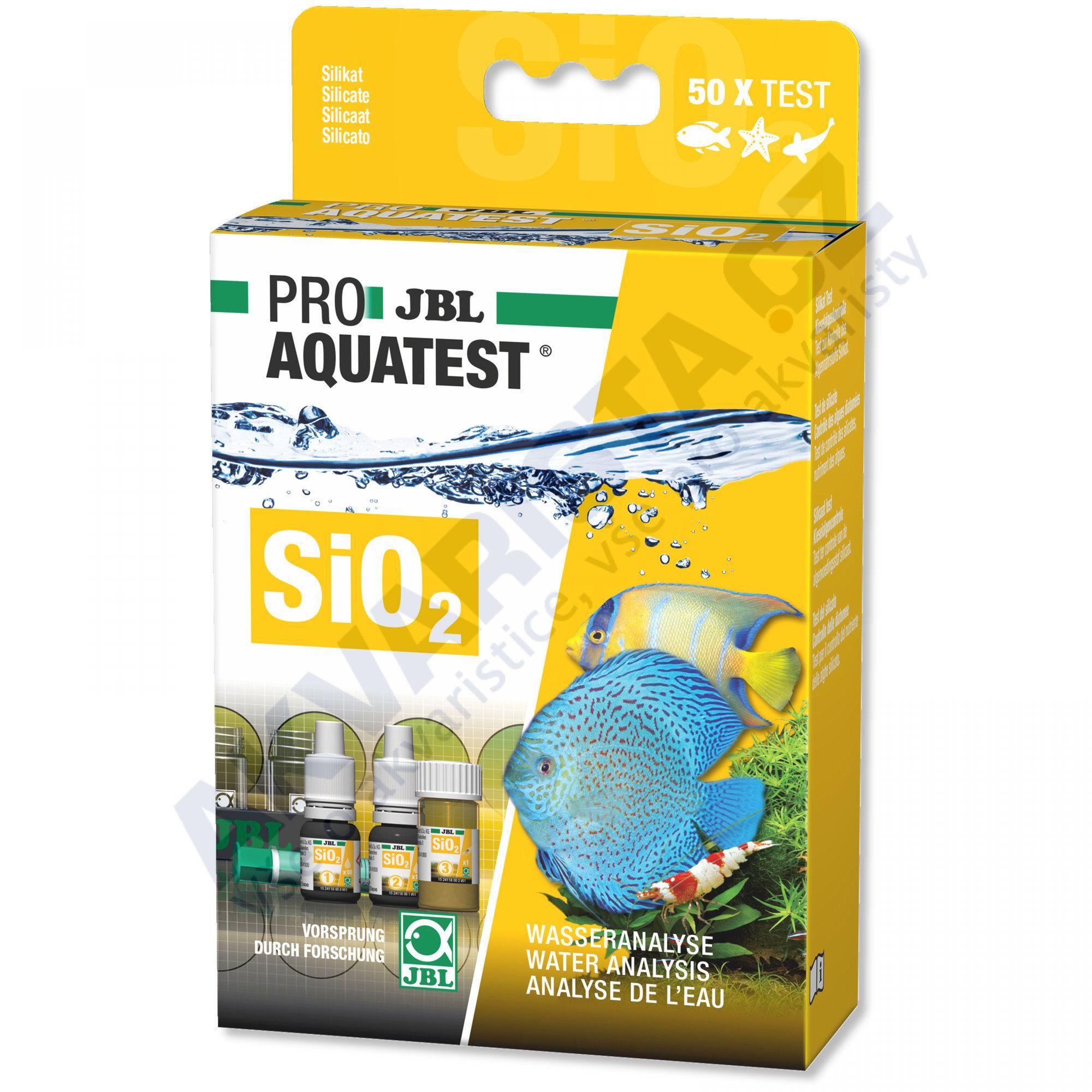 JBL PRO Aquatest SiO2 (křemičitany)