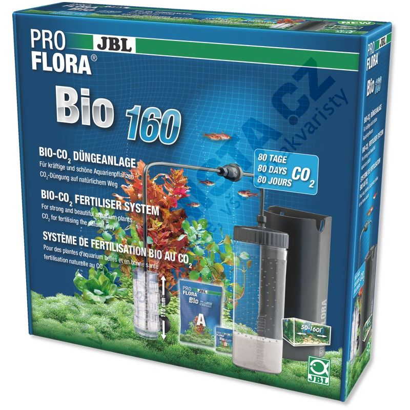 JBL ProFlora Bio 160 (náplně do 7.2021)