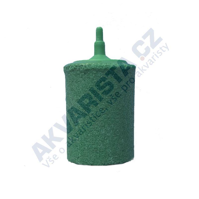 Vzduchovací kámen válec zelený 28 mm MAXI