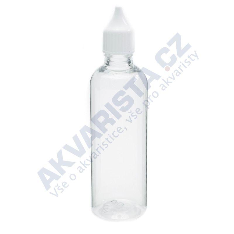 Plastová lahvička s kapátkem 100 ml - čirá