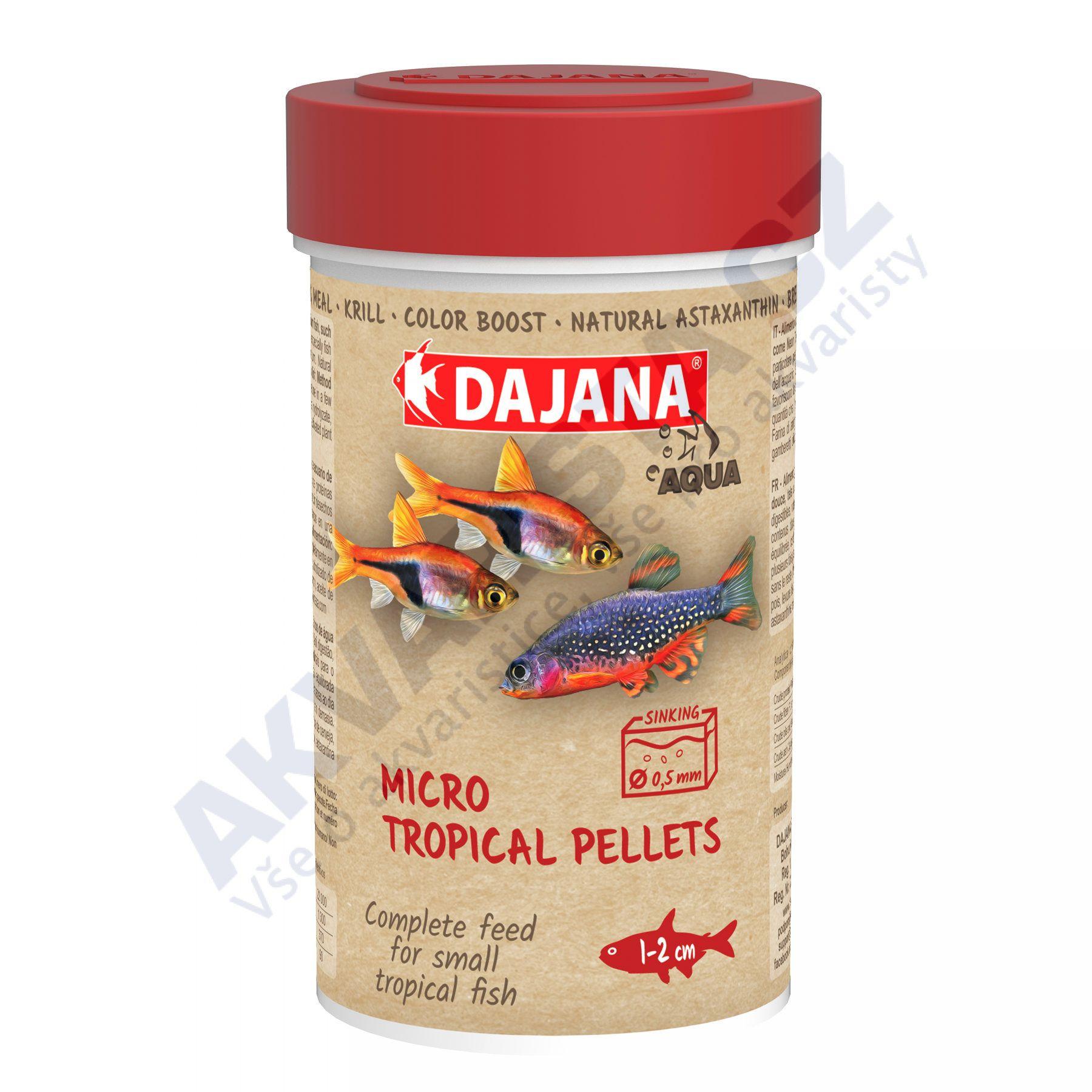 Dajana Neon tetra micro pellets 100ml