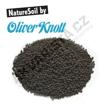 Oliver Knott Nature Soil černý jemný (2-3 mm) 10 litrů