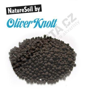 Oliver Knott Nature Soil černý normal (4-5 mm) 10 litrů
