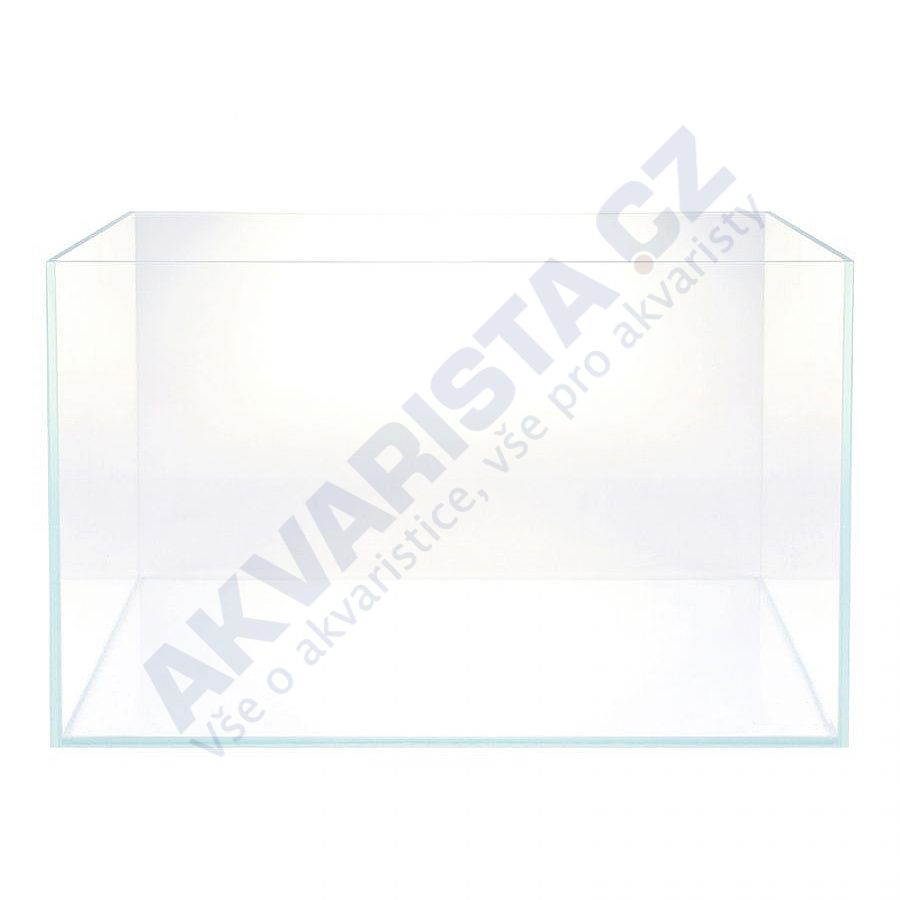 Optiwhite akvárium 60x30x36 cm, sklo 5 mm