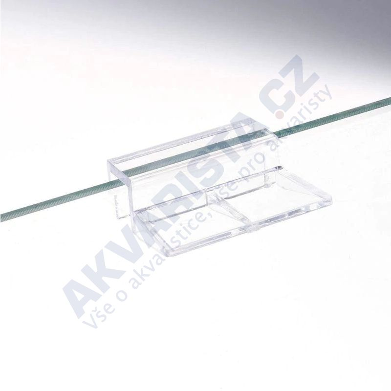 Plastový držák krycího skla 6 mm