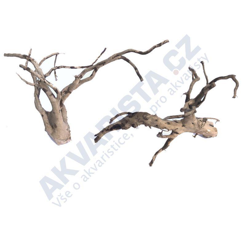 Red moor (Amano finger wood) akvarijní kořeny - MIKRO set (2ks)