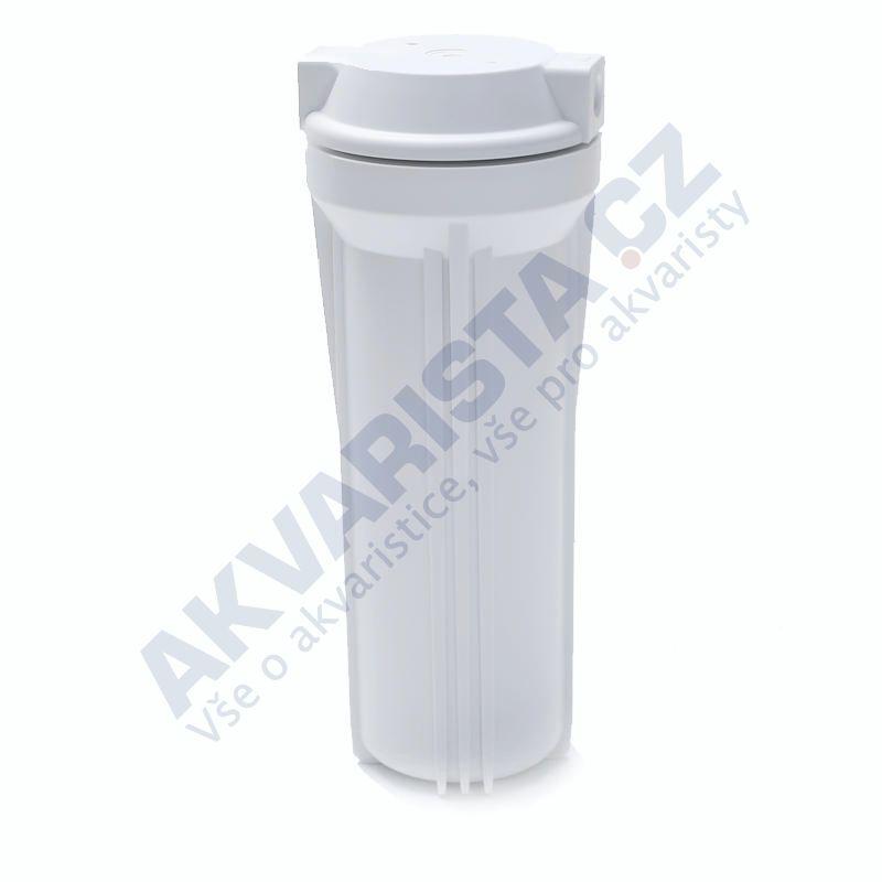 Korpus filtru 10 bílý s 1/4 šroubením a jedním těsněním