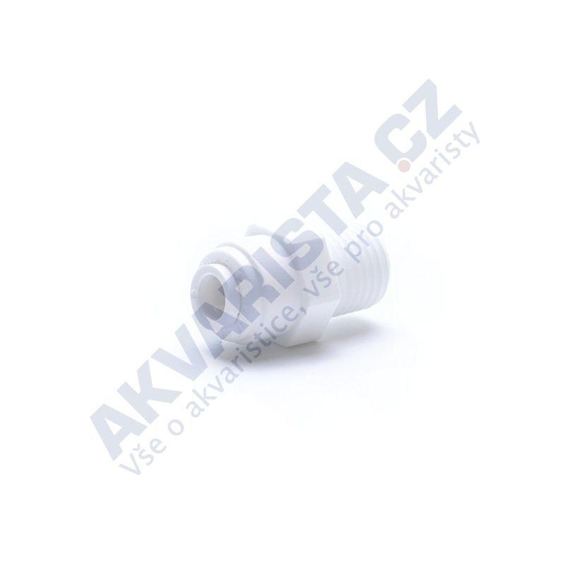 Quick Konektor přímý 1/4 závit x 1/4 hadička