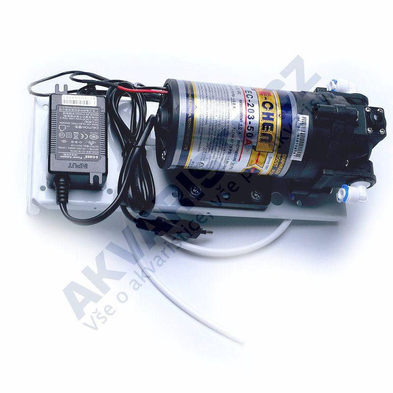 Pomocné čerpadlo e chen 150GPD pro reverzní osmozy KOMPLET
