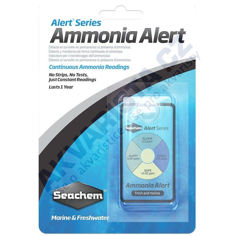 Seachem Test Ammonia Alert permanentní