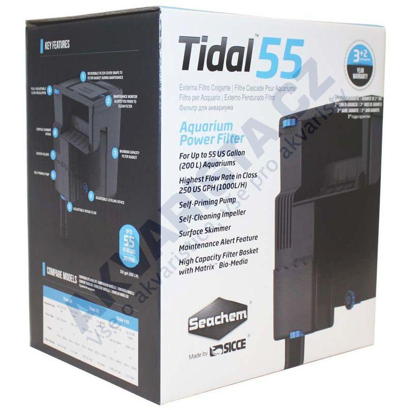 Seachem Vnější filtr TIDAL 55