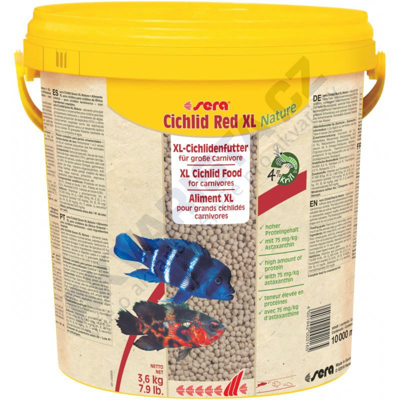 Sera Cichlid Red XL 10 l