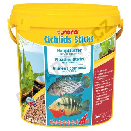Sera Cichlids Sticks 10 l