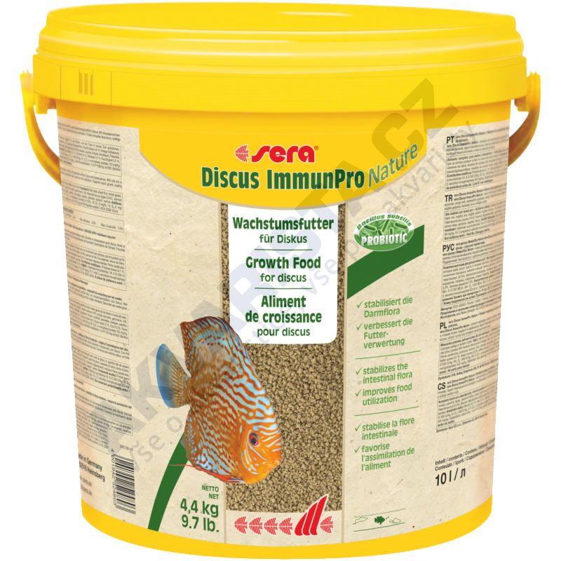 sera Discus ImmunPro Nature 10 l