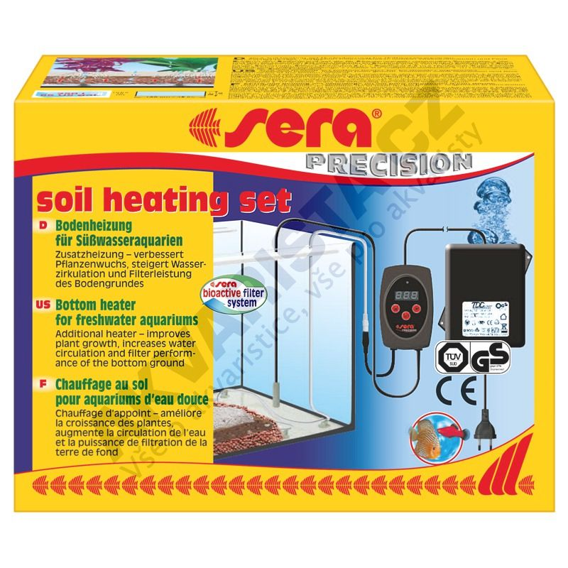 Sera Soil heating set - topný kabel