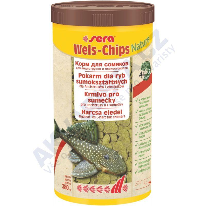 Sera Wels Chips NATURE 1000ml