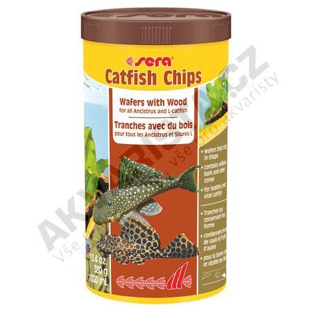 Sera Wels (Catfish) Chips 1000ml
