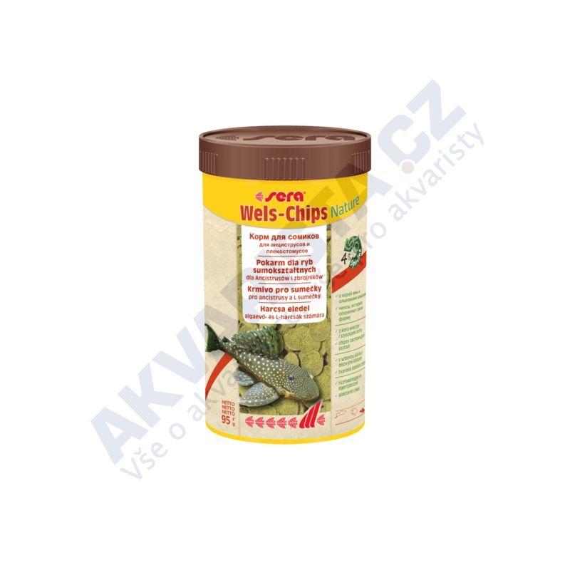 Sera Wels Chips NATURE 250ml