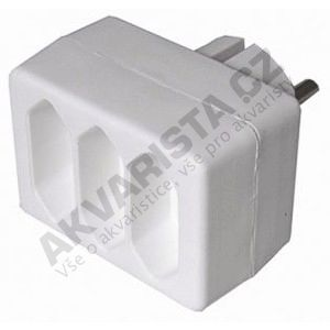 Solid Adapter 3 x 2,5A