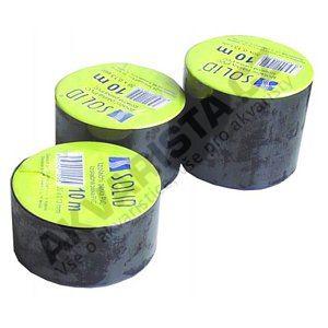 Solid Izolační páska PVC černá 50mm, délka 10m
