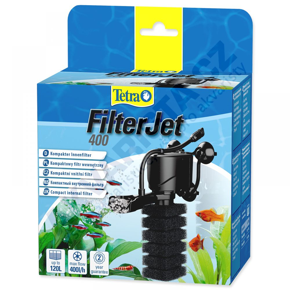 Tetra FilterJet 400, vnitřní filtr pro akvárium 50-120 litrů