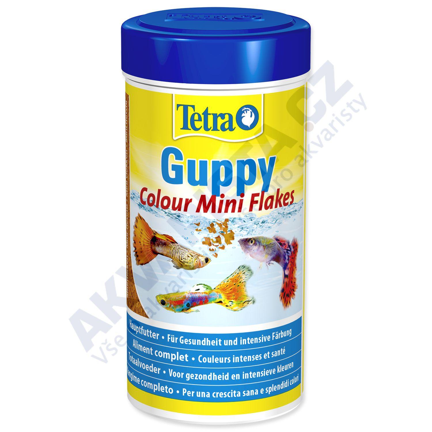 Tetra Guppy Colour mini flakes 100 ml