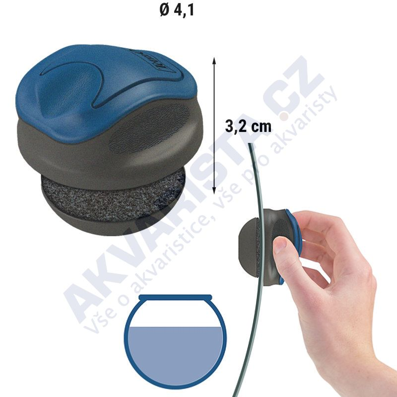 Tetra Magnet Cleaner Bowl (pro kulatá akvária)