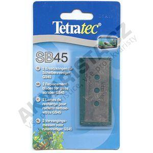 TetraTec Náhradní žiletky ke škrabce GS45