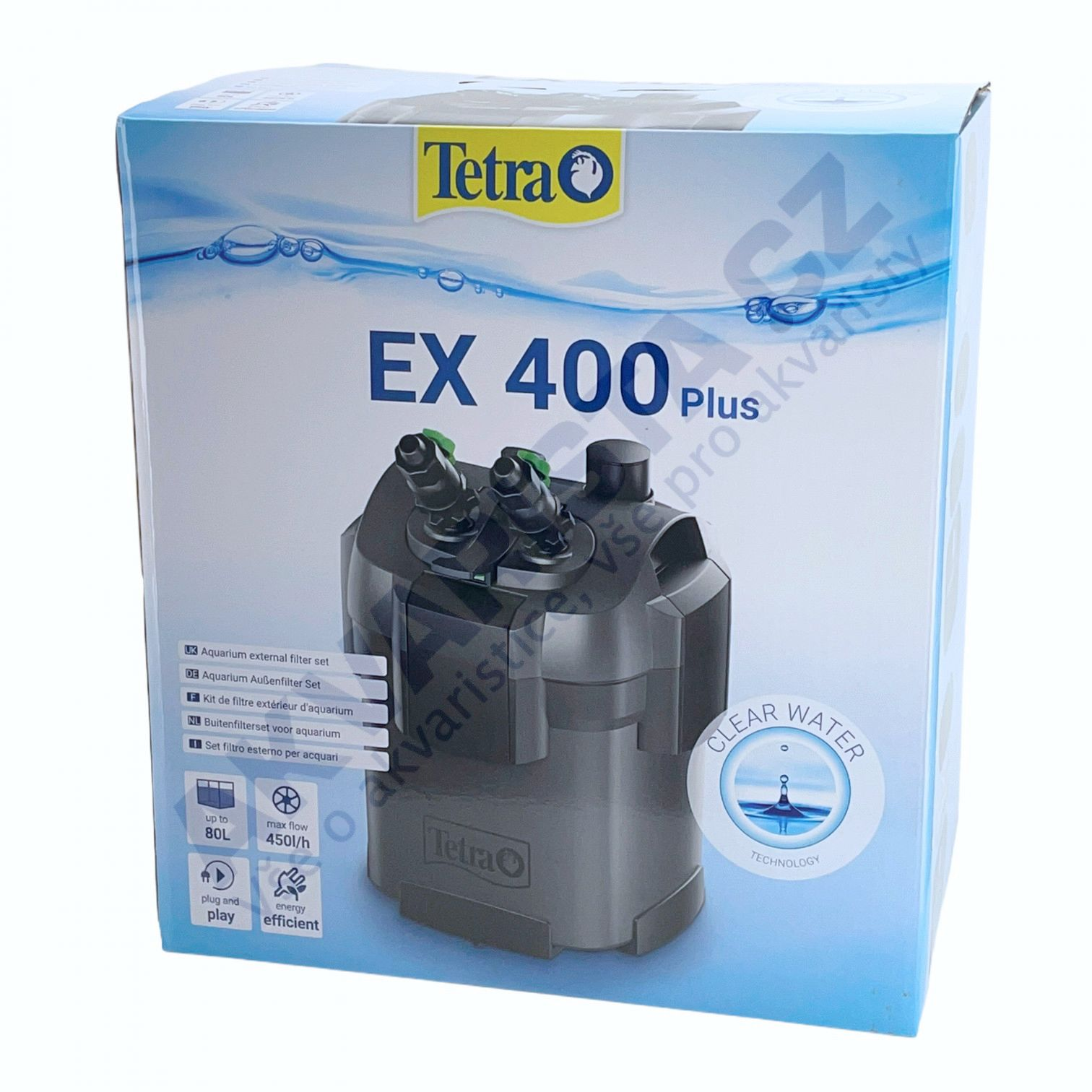 TetraTec EX 400 plus vnější filtr
