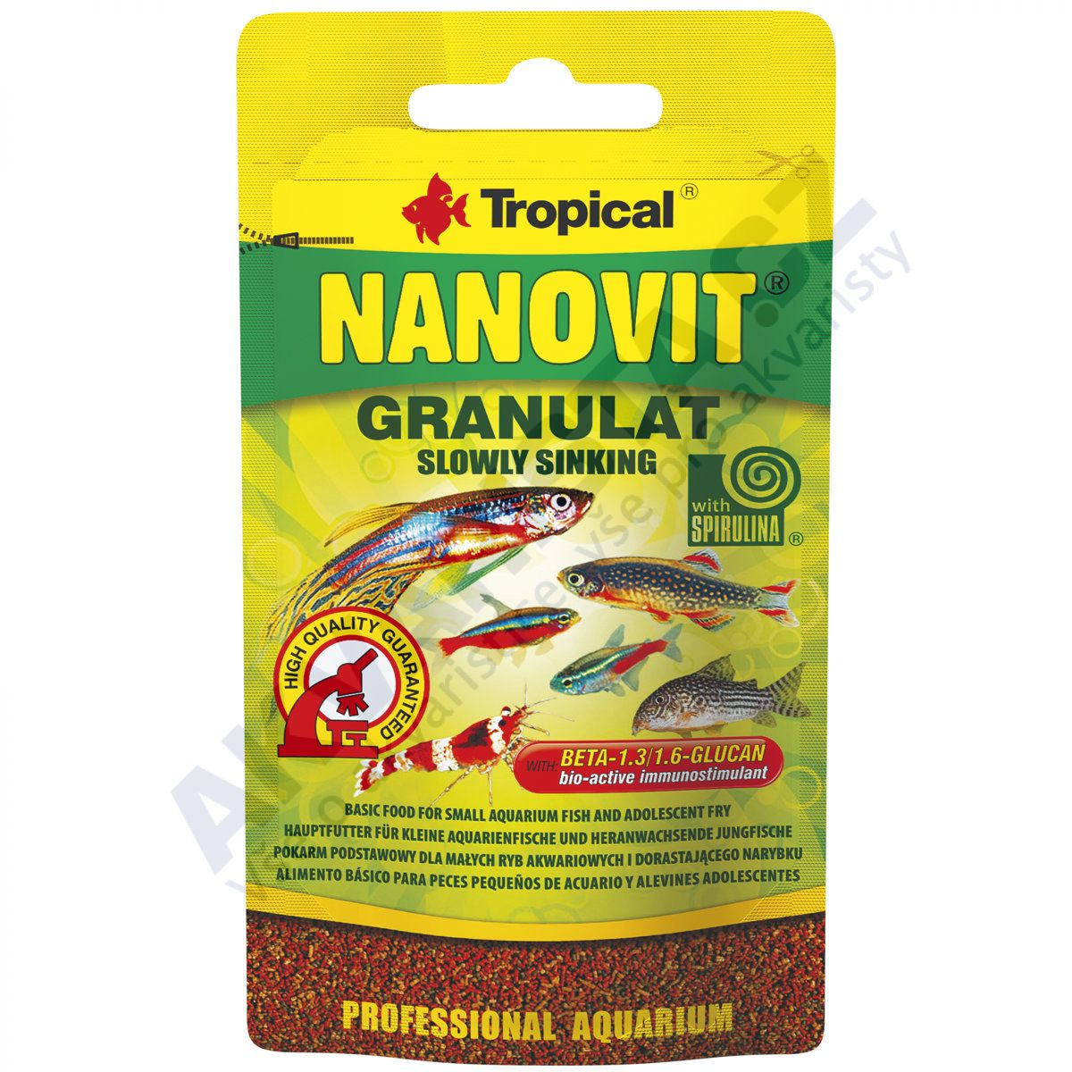 Tropical Nanovit granules 10g