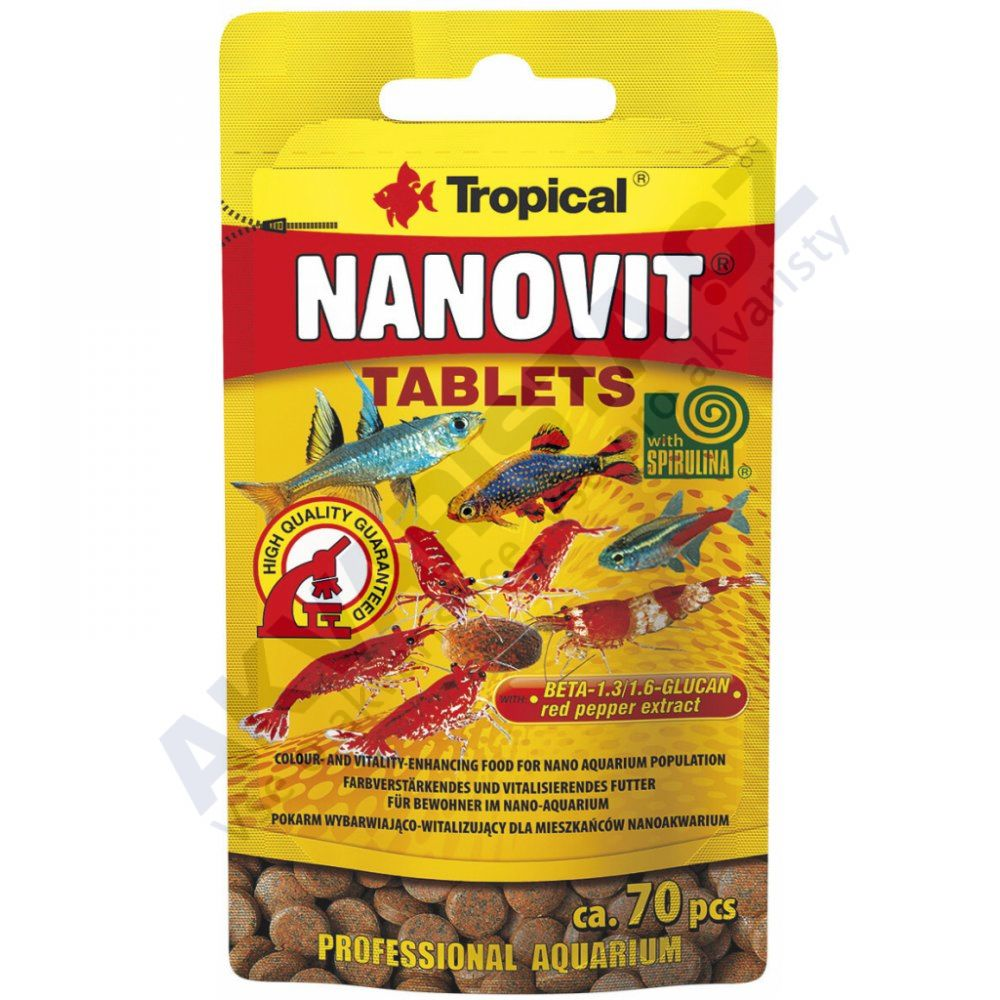 Tropical Nanovit tablets 10g