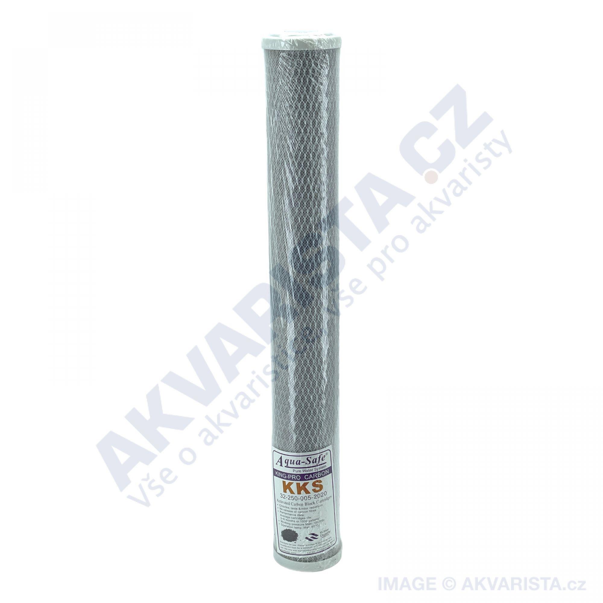 Uhlíkový filtr pro reverzní osmozy velikost 20