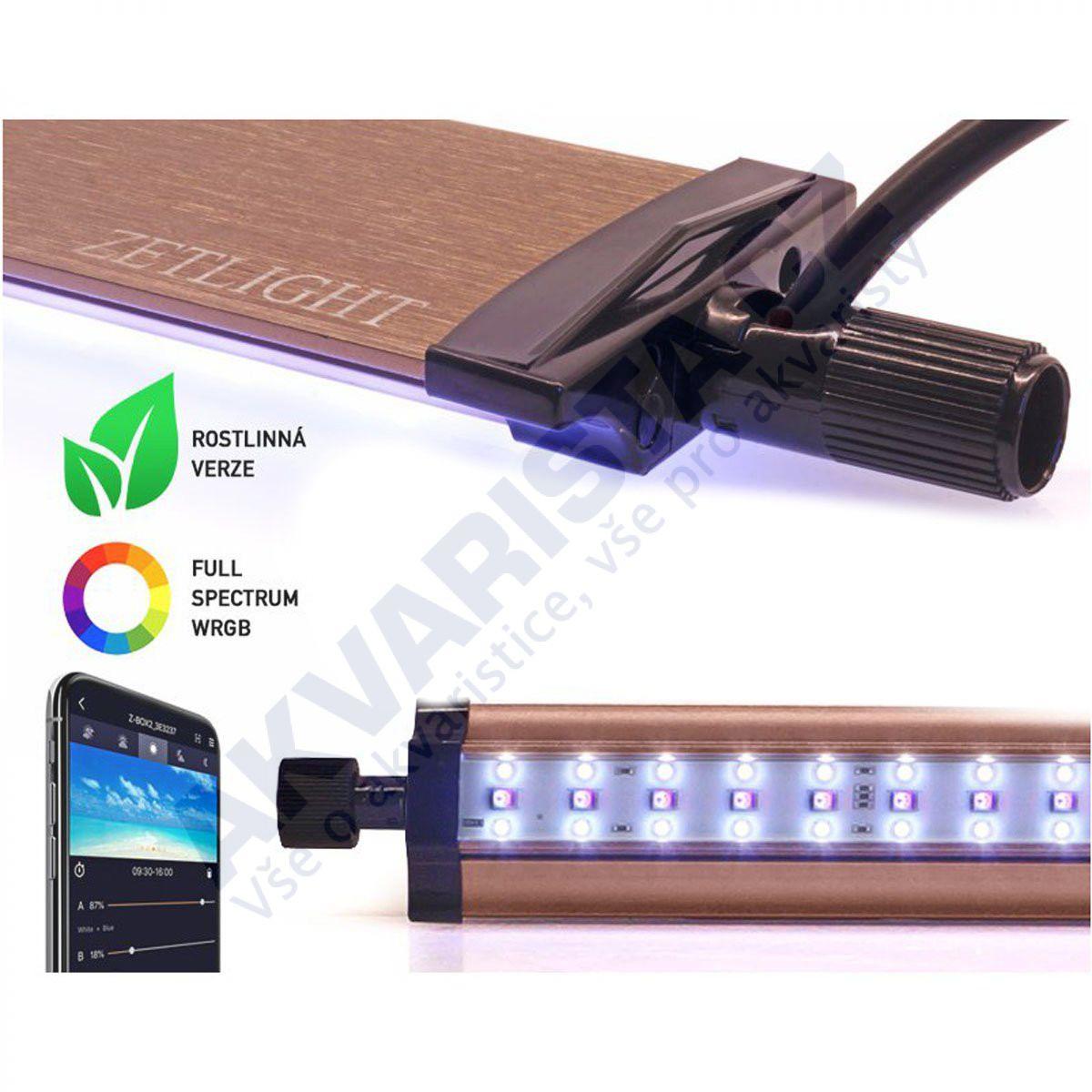 Zetlight LANCIA 2 PLANT WRGB/WIFI LED osvětlení 30cm 10W